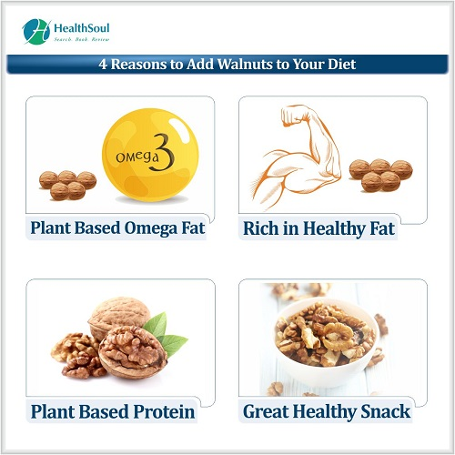 4 Reasons to Add Walnuts to Your Diet | HealthSoul