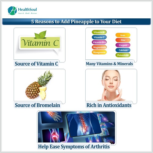 5 Reasons to add pineapple to your diet | Healthsoul
