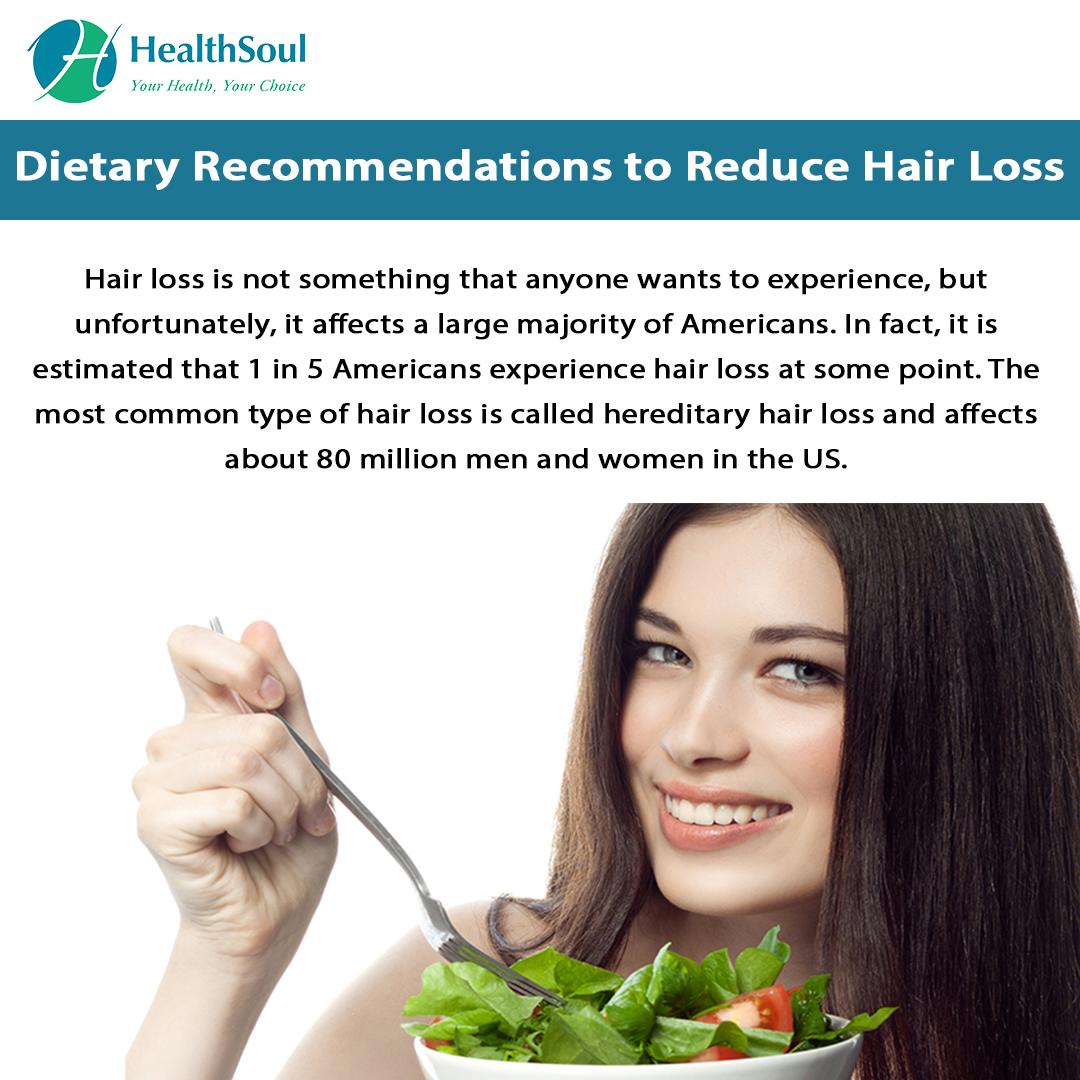 Diet for hair loss | HealthSoul