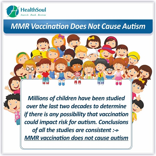 MMR Vaccination Does Not Cause Autism | HealthSoul