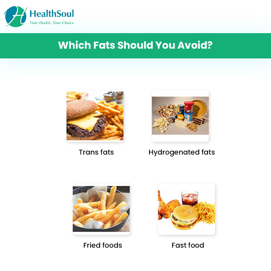 Which fats should you Avoid?