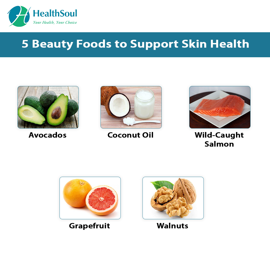 5 Beauty foods to support Skin health