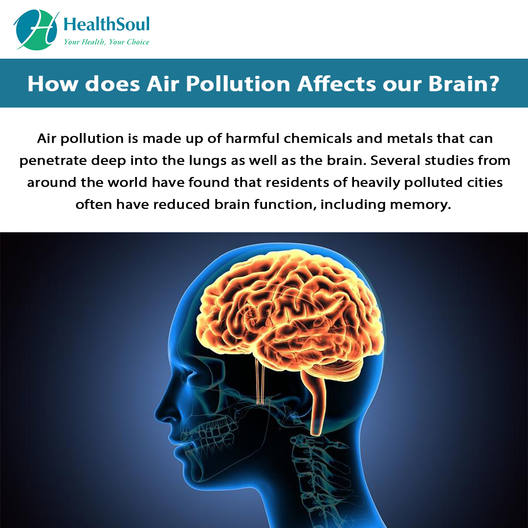 How does air pollution affects our brain ?