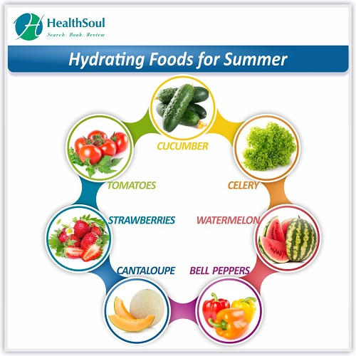 Hydrating Foods for Summer | HealthSoul