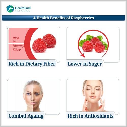 4 Health Benefits of Respberries   HealthSoul