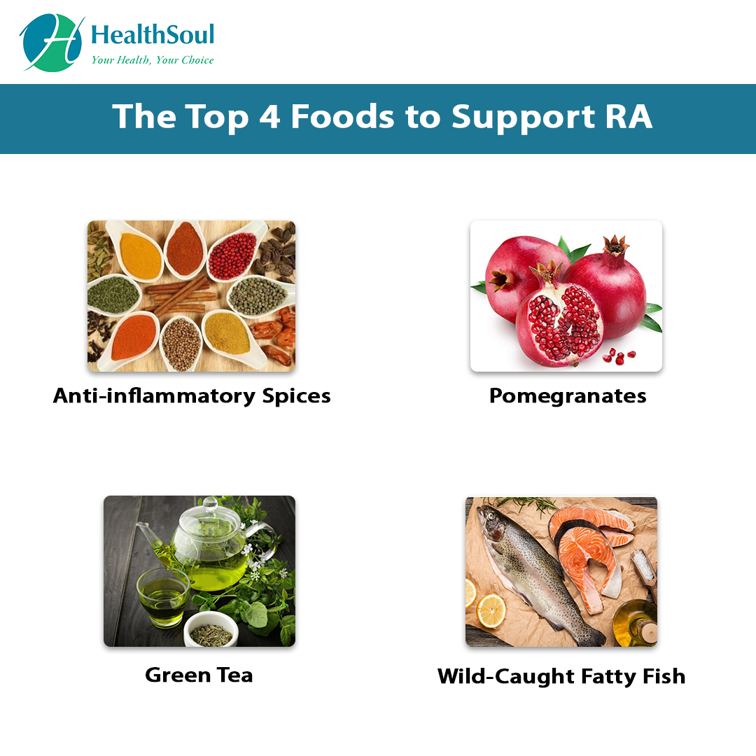 The Top 4 Foods to Support RA