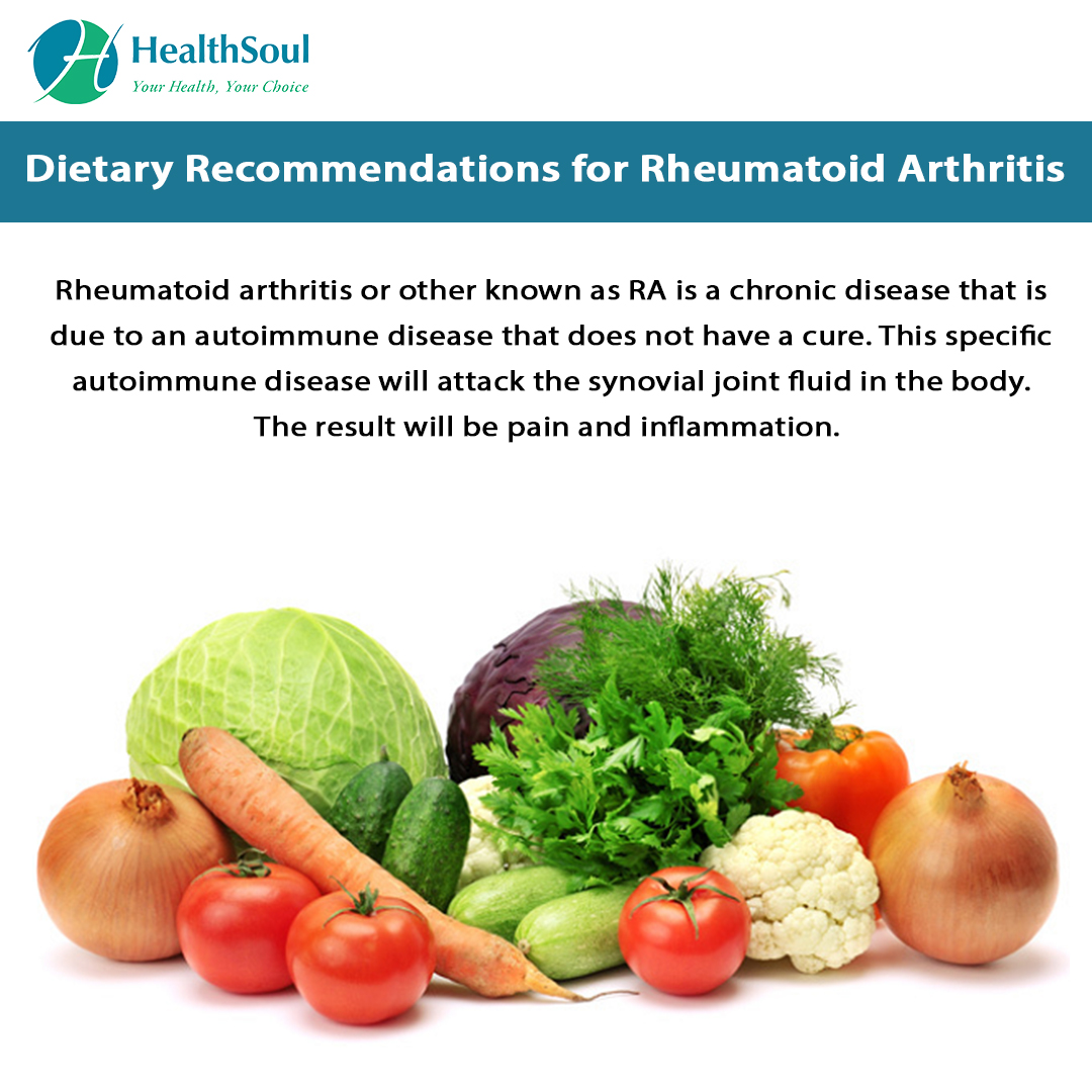 Dietary Recommendations for Rheumatoid Arthritis