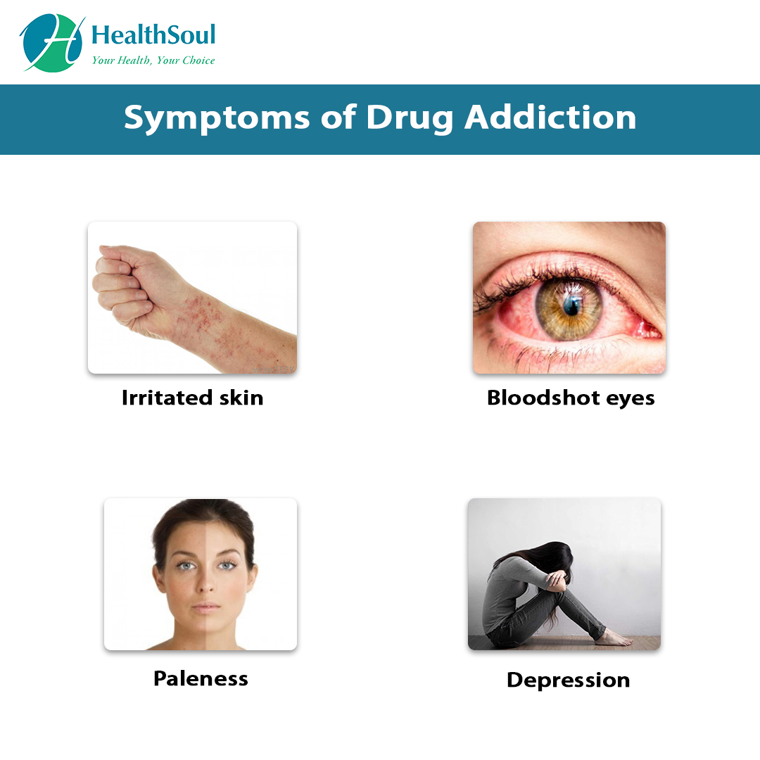 Symptoms of Drug Addiction