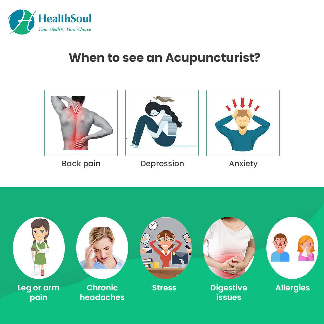When to see an Acupuncturist?
