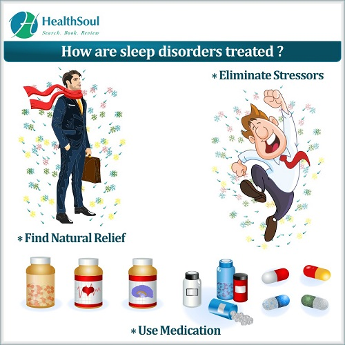How are sleep disorders treated?   HealthSoul