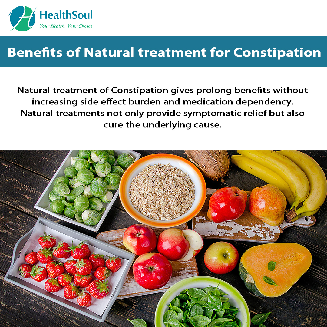 Benefits of Natural Treatment for Constipation